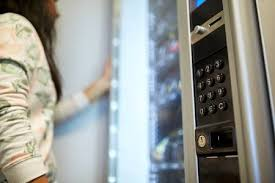 Woman Vending Machine Classy Woman At Vending Machine Stock Photo Picture And Royalty Free Image
