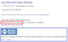 Microsoft Office Meeting Customizing Microsoft Teams Meeting Invitations Jeff
