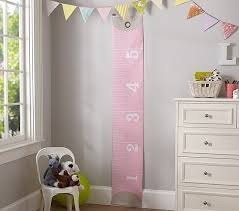 Pink Measuring Tape Growth Chart Pottery Barn Kids Could