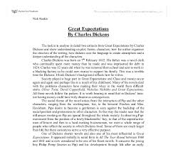 essay great expectations critical essay great expectations
