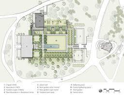 landscape architecture blueprints. Lakewood Cemetery Garden Mausoleum Landscape By Halvorson Design Partnership « Architecture Works Blueprints