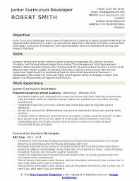 Curriculum Developer Resume Samples Qwikresume