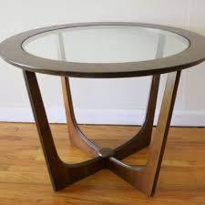 elegant round glass top coffee table cf 72 details bic furniture india