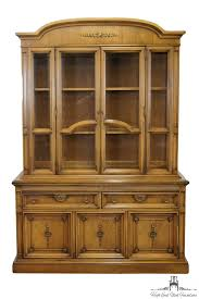 High End China Cabinets High End Used Furniture United Furniture 56 Mid Century Tuscan