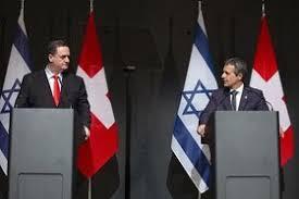 Der bundesrat feiert mit einem prominenten gast ein jubiläum. Bundesrat Cassis Empfangt Israelischen Aussenminister Zu Jubilaum Swi Swissinfo Ch