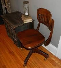 vintage wooden office chair. vintage wood office chair metal u0026 by vagabondsandcaravans on etsy wooden y