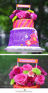 Birthday Cake With Flowers Beautiful Floral Cakes Pretty Birthday