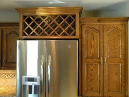 wine rack cabinet above fridge. Another View Before With Cabinet Above Fridge Hard To Get To. After Wine Rack F