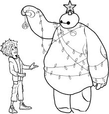 Big Hero 6 Colouring Pages Coloring Fred Betterfor
