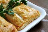 bacon and chicken pastry pockets