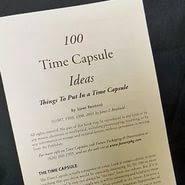 a time capsule essay  a time capsule essay