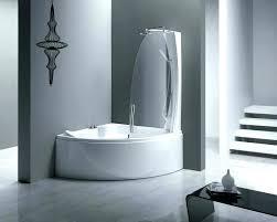 corner bath with shower bathtub shower combo for small bathroom corner bathtub shower combo small bathroom