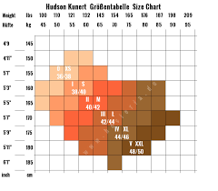 Hudson Size Chart Hudson Kessi Tights