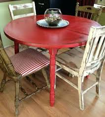 distressed dining room