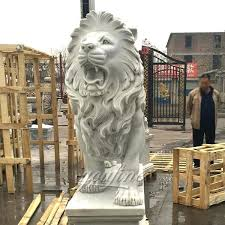 lion statue for western stone marble large roaring lion statue for outdoor lion statue for lion statue
