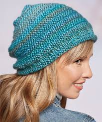 Easy Knit Hat Pattern Free Unique Colorful Hat Knitting Patterns In The Loop Knitting