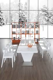 High Gloss Dining Table E122t Modern White High Gloss Dining Table