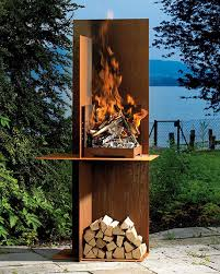 Small Picture Outdoor fireplace designs from Fonte Flamme