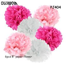Peony Paper Flower Us 2 8 20 Off 6pcs Set Autumn Decoration Autumn Decor Artificial Peonies Paper Flowers Peony Flower Wall Tissue Paper Craft Flowers Home Decor In