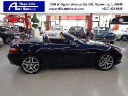 See customer reviews across britain from aa cars. 2015 Used Mercedes Benz Slk 2dr Roadster Slk 250 At Naperville Auto Haus Il Iid 19430579