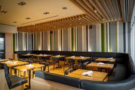 sustainable restaurant furniture. Credit: Forage Restaurant Sustainable Furniture I