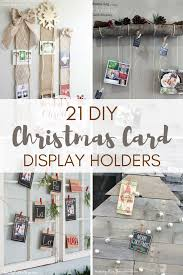 Christmas Card Display Stand 100 DIY Christmas Card Display Holders A Hundred Affections 21