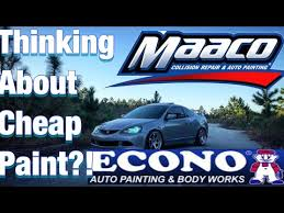 Maaco Paint Color Chart Watch This Before Macco Paint Or Econo Youtube