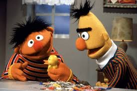 Bert and ernie sesame street gay