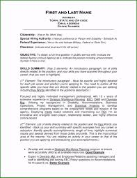Job Objective For Resume Greatest Military Resume Objective