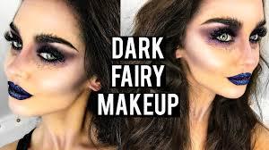 dark evil fairy makeup tutorial katesbeautystation you