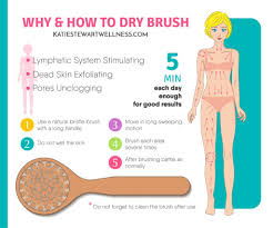 Dry Skin Brushing Chart How To Dry Brush For Healthier Skin And A Stronger Immune