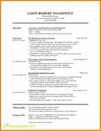 Resume Best Of Banker Resume Template Banker Resume Template Fresh