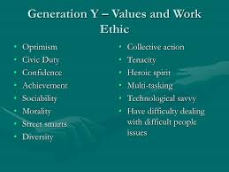 Generation Y Work Ethic Ppt Organizational Behavior Meets Generation X And Y A