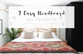 7 easy headboard diy projects
