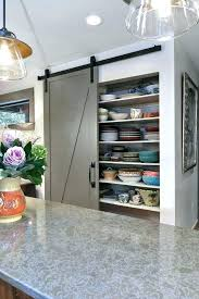 kitchen barn door sliding barn door for pantry sliding barn doors kitchen transitional with gray trim kitchen barn door