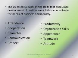 Good Work Traits Good Work Characteristics Major Magdalene Project Org