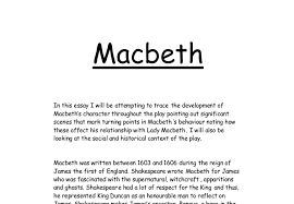 themes essay macbeth themes essay
