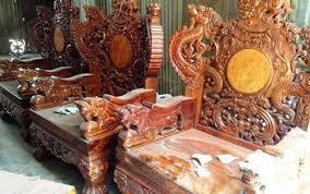 most expensive furniture ever. bộ bàn ghế gỗ sưa trăm tỷ đắt nhất việt nam - ảnh 3 most expensive furniture ever o