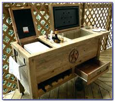 cooler cart on wheels patio home design ideas and pictures beverage cooler cart