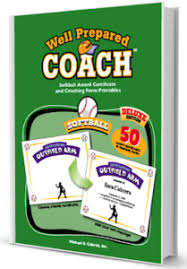 Softball Certificate Templates And Coaching Forms