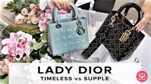 Lady Dior Which One Should You Get Sizes Price Lady Dior Supple Sophie Shohet