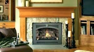 convert gas fireplace to wood burning converting stove back fire
