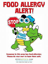 StopGator Food Allergy Alert Poster | Emergency Medical Products