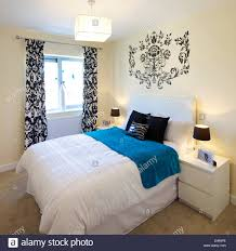 Lamps For Bedroom Tables Lamps On Bedside Tables Next To Bed In Bedroom Of Apartment At