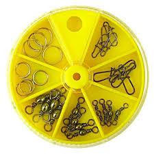 Вертлюги <b>застежки</b> кольца <b>Lucky John</b> Набор 28шт.