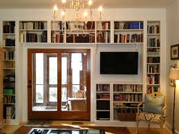 ... Wonderful Cost For Built In Bookcase Custom Built Ins Cost White Wall  Bookshelves ...