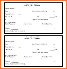 Received Payment Receipt Format Fee Receipt Format Money Receipt