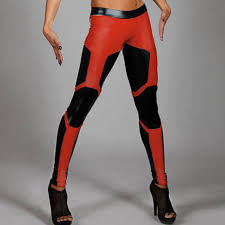 2018 whole new arrival 1510 y marvel deadpool cosplay printed elastic fitness polyester workout women leggings pants from blueberry07