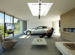 garage inside with car. Beautiful-Garage Garage Inside With Car