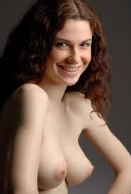 Pale Busty Redhead Valda with Coin Slot Pussy from Domai Image.